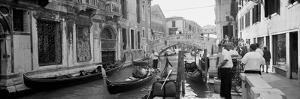 Buildings Along a Canal, Grand Canal, Rio Di Palazzo, Venice, Italy