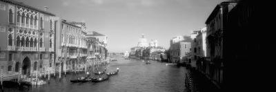 Buildings Along a Canal, Grand Canal, Venice, Italy--Photographic Print