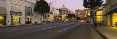 Buildings Along a Road, Rodeo Drive, Beverly Hills, California, USA--Photographic Print
