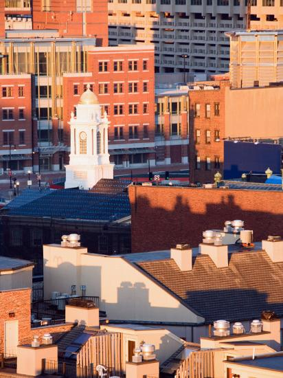 Buildings and High Rises in Boston, Massachusetts--Photographic Print
