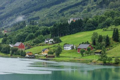 Buildings. Architecture. Olden, Norway-Tom Norring-Photographic Print