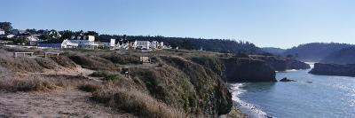Buildings at the Coast, Mendocino, Mendocino County, California, USA--Photographic Print