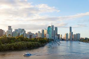 Buildings at the Waterfront, Brisbane, Queensland, Australia