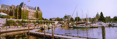 Buildings at the Waterfront, Empress Hotel, Inner Harbor, Victoria, Vancouver Island--Photographic Print
