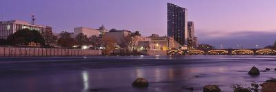 Buildings at the Waterfront, Grand Rapids, Kent County, Michigan, USA--Photographic Print