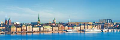 Buildings at Waterfront, Gamla Stan, Stockholm, Sweden--Photographic Print
