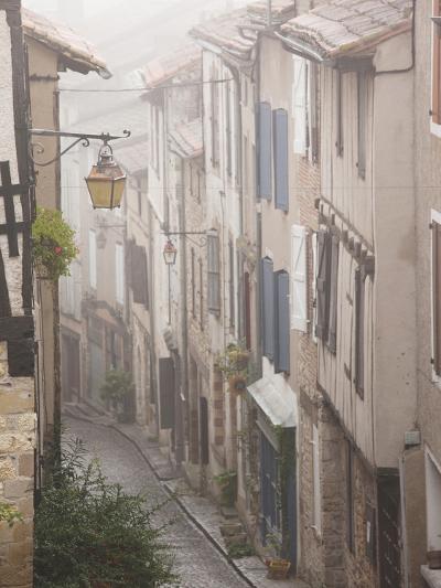 Buildings by Place De La Trinite, Cordes-Sur-Ciel, Tarn Department, Midi-Pyrenees Region, France-Walter Bibikow-Photographic Print