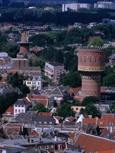 Buildings from Dom Tower, Utrecht, Netherlands-Rick Gerharter-Photographic Print
