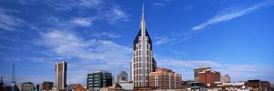 Buildings in a City, Bellsouth Building, Nashville, Tennessee, USA 2013