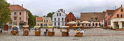 Buildings in a City, Klaipeda, Lithuania--Photographic Print
