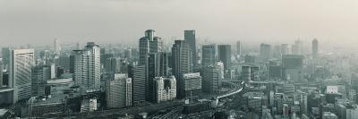 Buildings in a City, Osaka, Osaka Prefecture, Kansai Region, Japan--Photographic Print