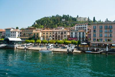 Buildings in a Town at the Waterfront, Bellagio, Lake Como, Lombardy, Italy--Photographic Print