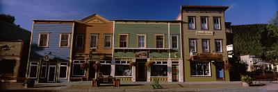 Buildings in a Town, Crested Butte, Gunnison County, Colorado, USA--Photographic Print