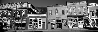 Buildings in a Town, Old Mining Town, Silverton, San Juan County, Colorado, USA--Photographic Print