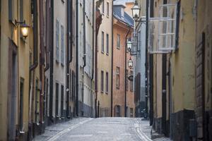 Buildings in Old Town, Gamla Stan, Stockholm, Sweden