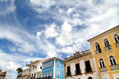 Buildings In Salvador-Spectral-Design-Photographic Print