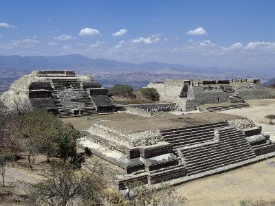 Buildings L and M, Monte Alban Archaeological Site--Photographic Print