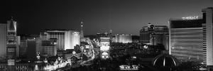 Buildings Lit Up at Night, Las Vegas, Nevada, USA