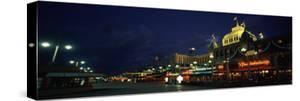 Buildings Lit Up at Night, Scheveningen, the Hague, South Holland, Netherlands