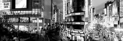 Buildings Lit Up at Night, Shinjuku Ward, Tokyo Prefecture, Kanto Region, Japan--Photographic Print
