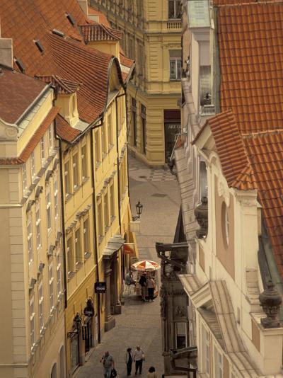 Buildings of Old Town, Prague, Czech Republic-Walter Bibikow-Photographic Print