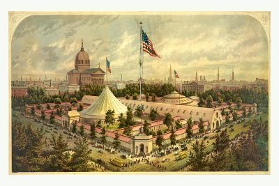 Buildings of the Great Central Fair--Giclee Print
