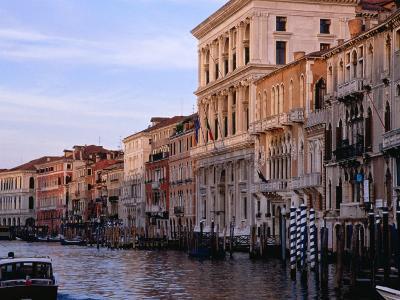 Buildings on Canal Venice, Italy-Glenn Beanland-Photographic Print