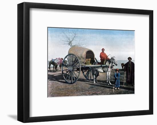 Bukhara Wagon, Uzbekistan, C1890- Gillot-Framed Giclee Print