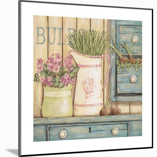 Bulbs-Jo Moulton-Mounted Print