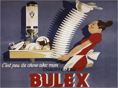 Bulex Water Heater Belgium--Giclee Print