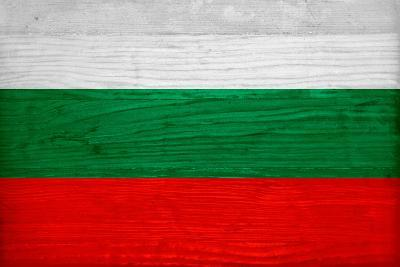 Bulgaria Flag Design With Wood Patterning Flags Of The World