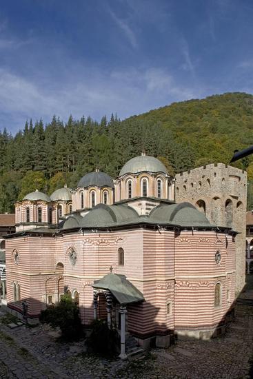 Bulgaria. Rhodope Mountains. Rila Monastery, Church of Nativity of Virgin--Giclee Print