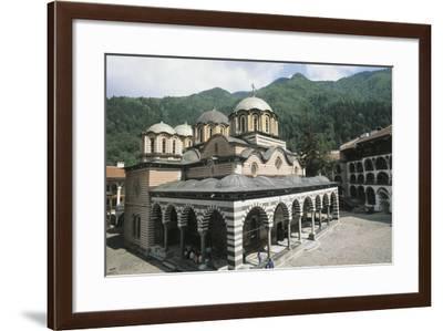 Bulgaria, Rhodope Mountains, Rila Monastery--Framed Giclee Print