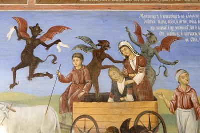 Bulgaria, Rila Monastery at Church of Nativity of Virgin--Giclee Print