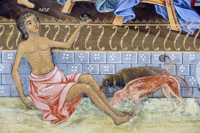 Bulgaria, Rila Mountains, Rila Monastery, Close Up of Fresco Detail in Church of Nativity of Virgin--Giclee Print