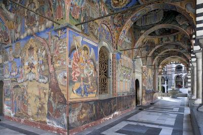 Bulgaria, Rila Mountains, Rila Monasteryed Narthex in Church of Nativity of Virgin--Giclee Print