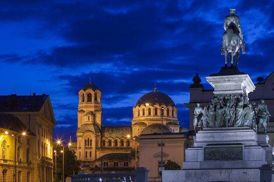 Bulgaria, Sofia-Walter Bibikow-Photographic Print