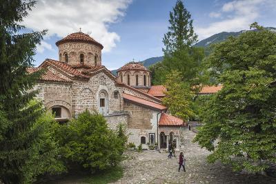 Bulgaria, Southern Mountains, Bachkovo, Bachkovo Monastery-Walter Bibikow-Photographic Print
