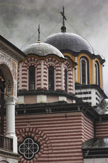 Bulgaria, Southern Mountains, Rila, Rila Monastery, Exterior-Walter Bibikow-Photographic Print