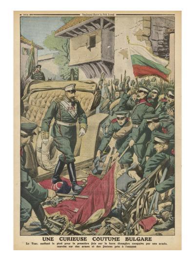 Bulgaria, Sword Custom--Giclee Print