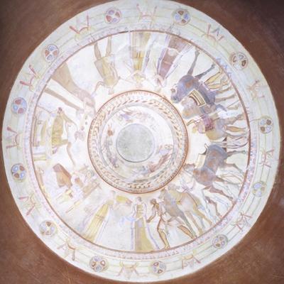Bulgaria, Tomb of Kazanlak, Frescoed Dome