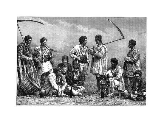 Bulgarian Peasants, C1890--Giclee Print