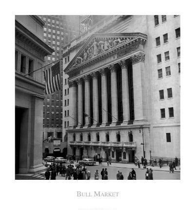 Bull Market--Art Print