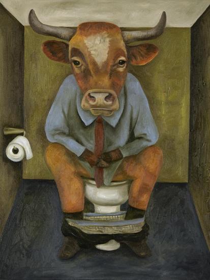 Bull Shitter-Leah Saulnier-Giclee Print