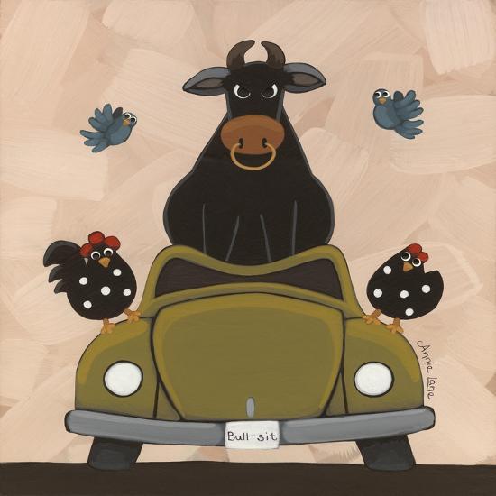 Bull-Sit-Annie Lane-Giclee Print