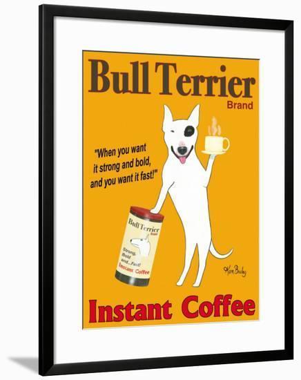 Bull Terrier Brand-Ken Bailey-Framed Giclee Print