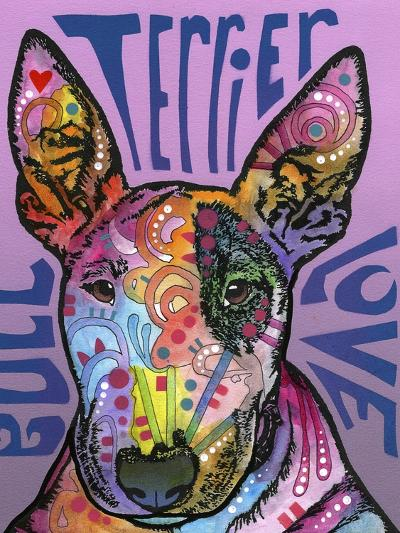 Bull Terrier Luv-Dean Russo-Giclee Print