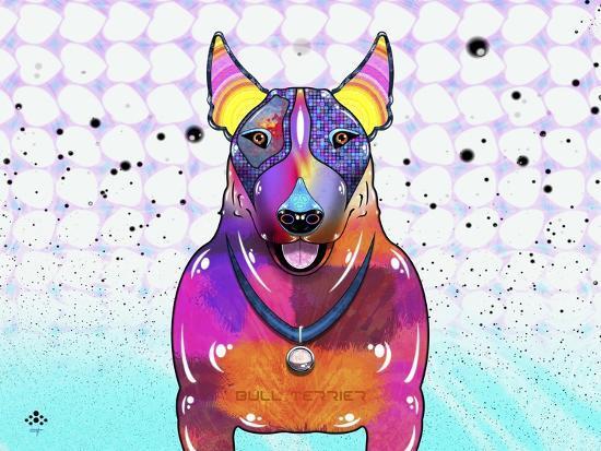 Bull Terrier XI-Fernando Palma-Giclee Print