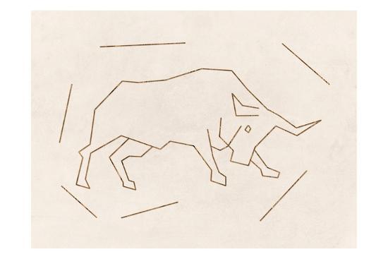 Bull-Sheldon Lewis-Art Print