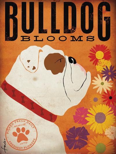 Bulldog Blooms-Stephen Fowler-Art Print